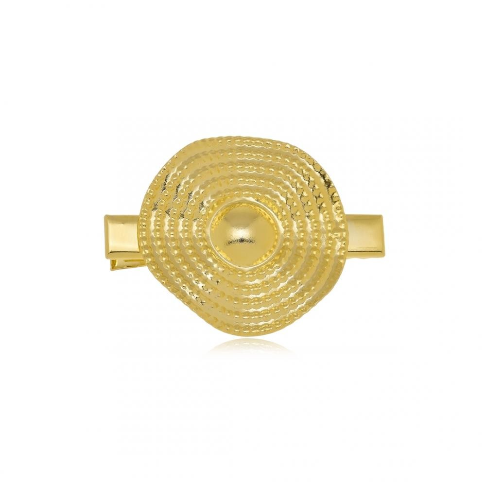 Presilha Pri Joias minimalista folheada a ouro 18k
