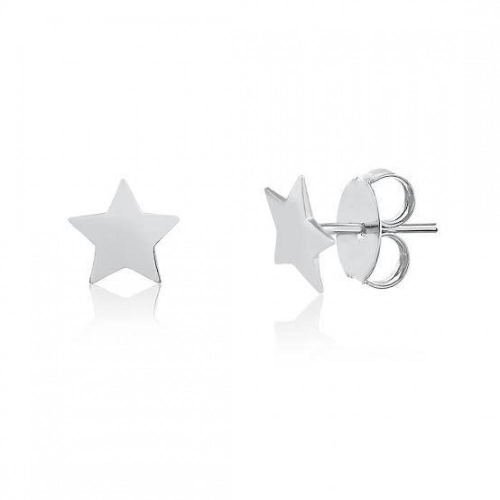Brinco de estrela de prata 925